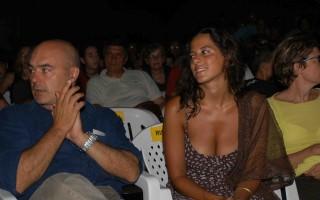 Luca Zingaretti e Tiziana Lodato